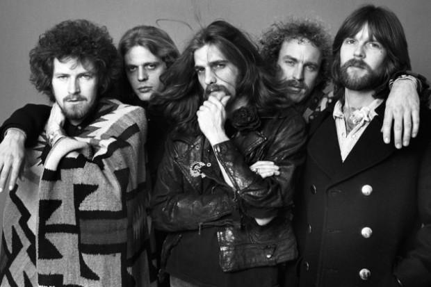 Glenn Frey with his Band