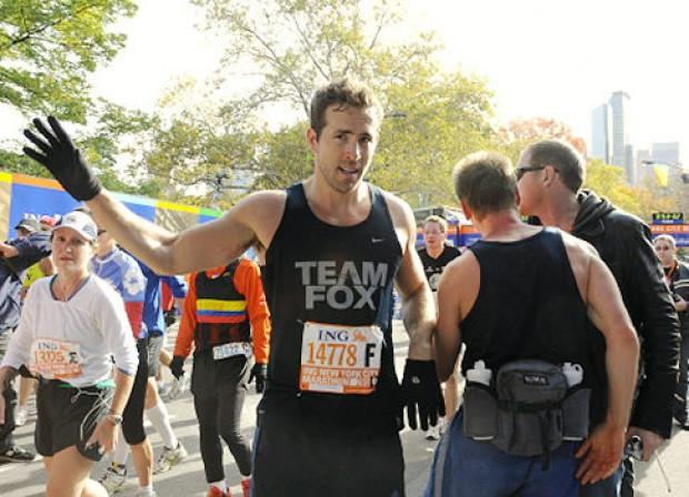 Ryan Reynolds Participated in New York City Marathon
