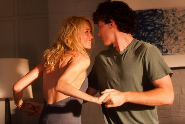 "Naomi Watts with James Frecheville in ""Adore"""