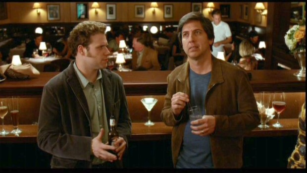 Ray Romano with Seth Rogen in Funny People