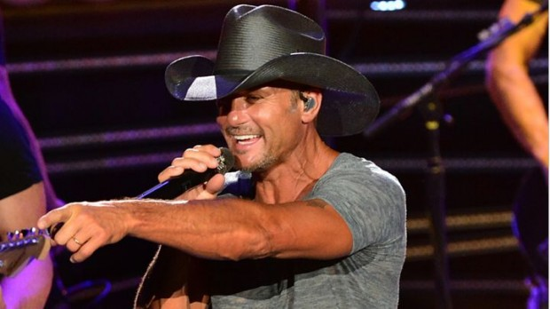 Tim McGraw on Shotgun Rider Tour