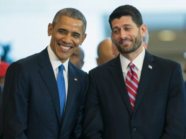 Paul Ryan With Obama
