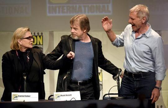 Harrison Ford at Comic Con
