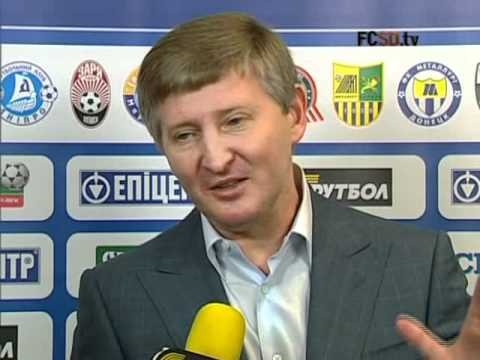 Rinat Akhmetov About The Match FC Shakhtar