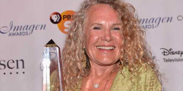 Christy Ruth Walton With Award