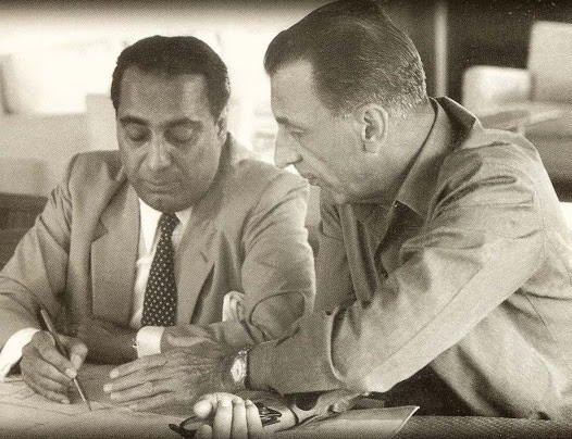 J.R.D. Tata at TATA With Homi Bhabha