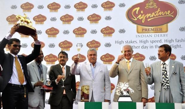 Vijay Mallya at McDowell Signature Premium Indian Derby