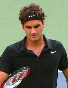 Federer in 2007 US Open