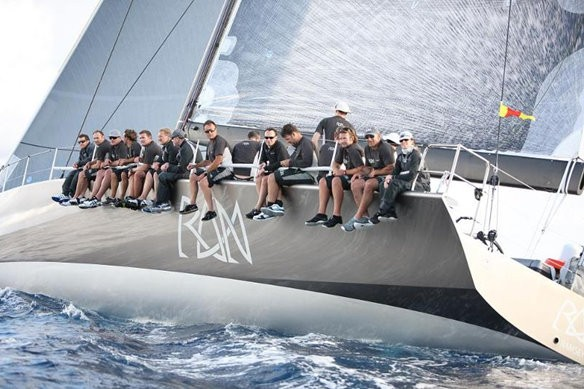 Niklas Zennstrom at Yacht Run