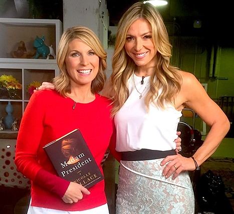 Nicolle Wallace and Debbie Matenopoulos