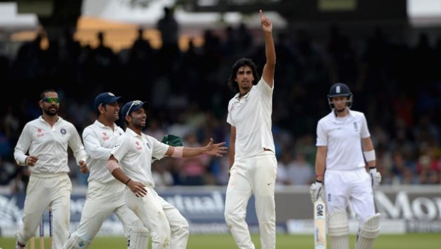 Ishant Sharma Celebrates Winning Moment Lord's Test