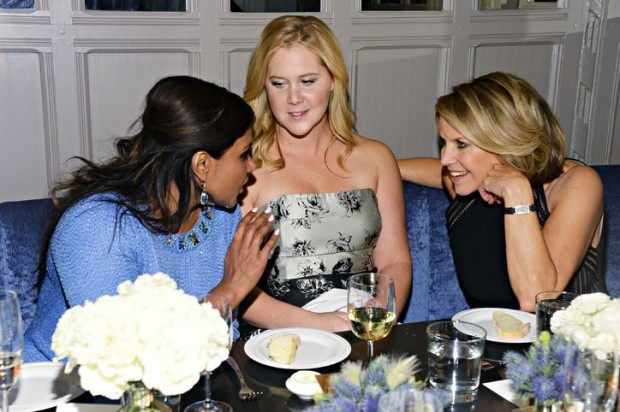 Mindy kaling, Amyschumer And katie Couric