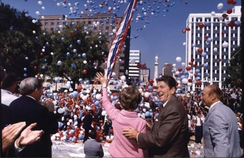 Ronald Reagan Campaigning 1980
