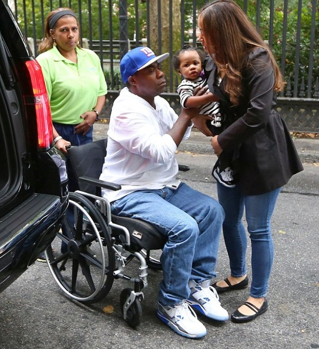 Tracy Morgan meeting Family After Accident