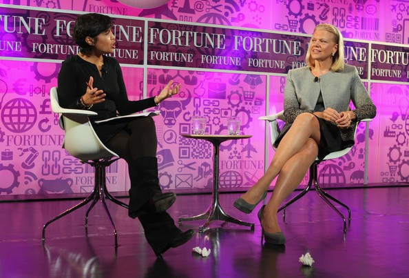 At the FORTUNE Most Powerful Women Summit