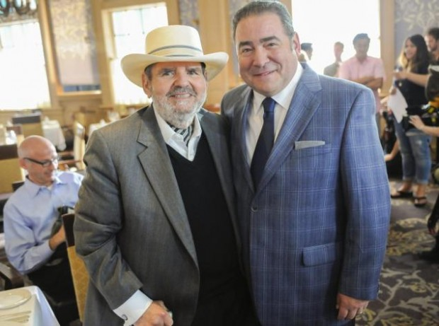 Paul Prudhomme With Hired Chef  Emeril Lagasse