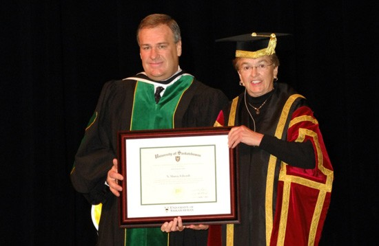 N. Murray Edwards receives Honorary Doctorate from University of Saskatchewan