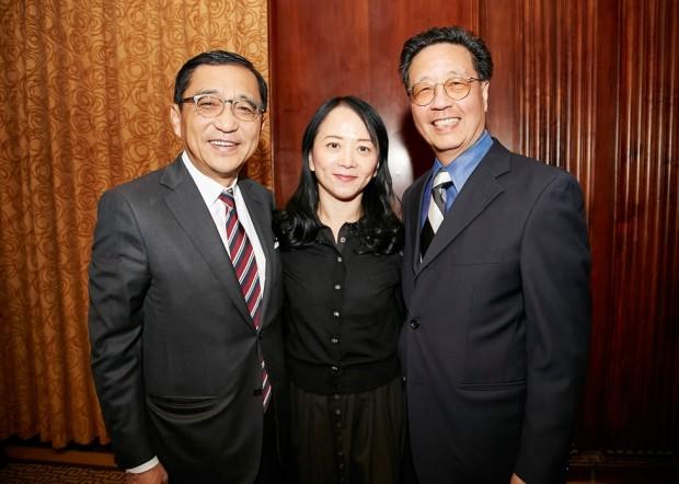 las Chou, Celia Chou, Savio Woo