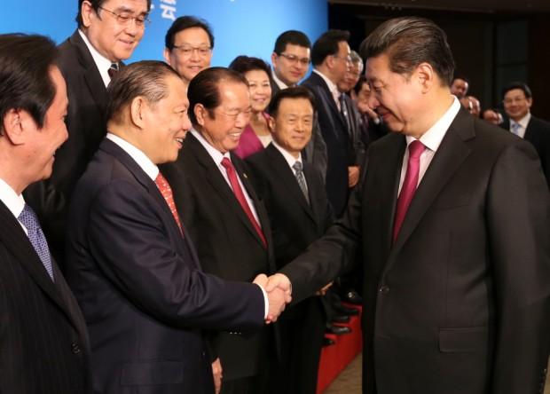 Sukanto Tanoto meets President Xi Jinping