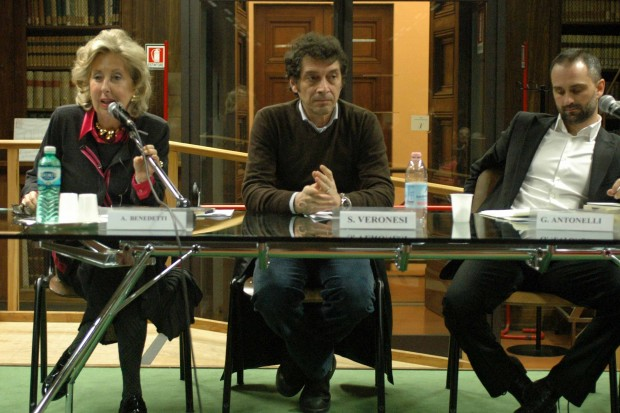 Anna Benedetti, Sandro Veronesi, Giuseppe Antonelli