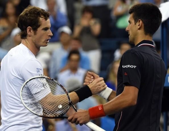 Novak Djokovic During China Open 2014