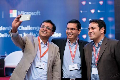 Sachin Bansal, Latif Nathani With Kunal Bahl