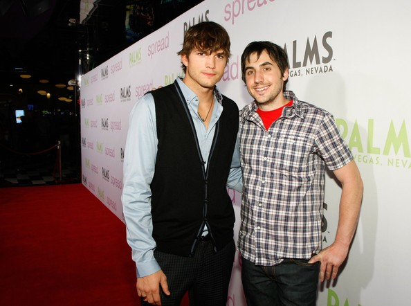 Ashton Kutcher With Kevin Rose