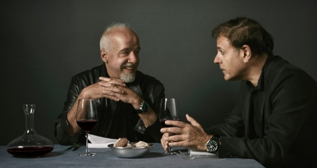 Paulo Coelho, best-selling author from Brazil and Enki Bilal