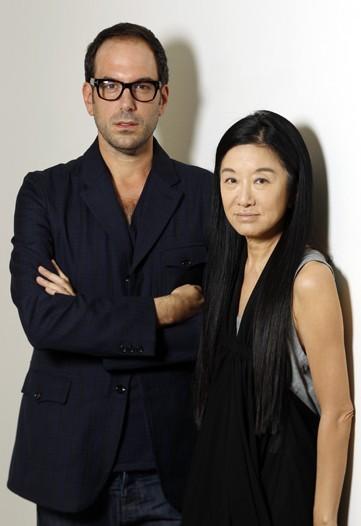 Mario Grauso and Vera Wang