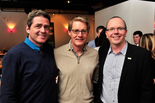 Kyle MacLachlan, Josh Welsh With Col Needham