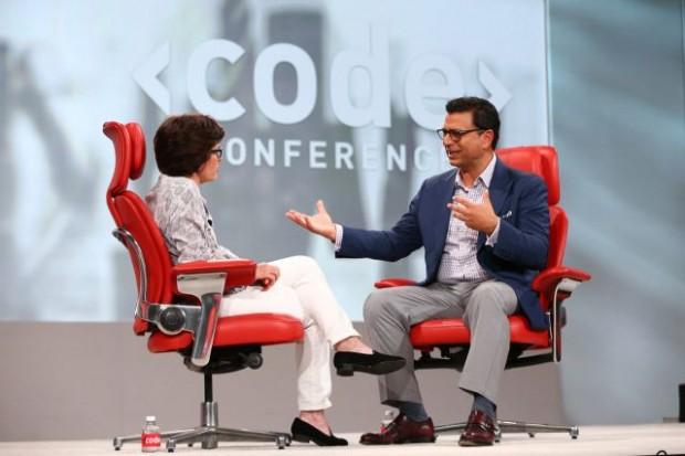 Omid Kordestani At Code Conference