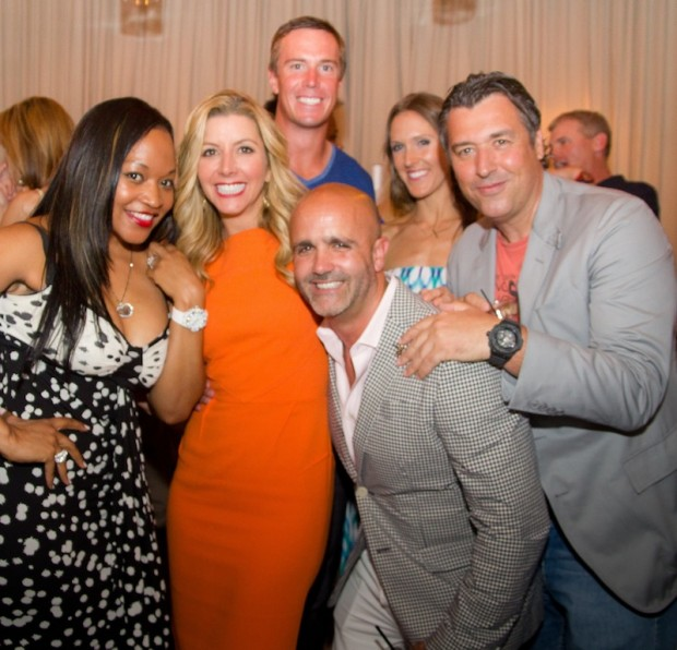 Monyetta Shaw, Sara Blakely, Matt Ryan, Justin Anthony, Sarah Ryan and Rick