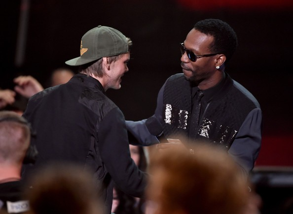 Rapper Juicy J with Avicii