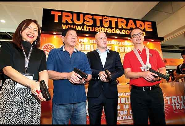 Rodrigo Duterte At TRUSTTRADE