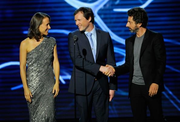Sergey Brin, Anne Wojcicki with Nicolas Berben