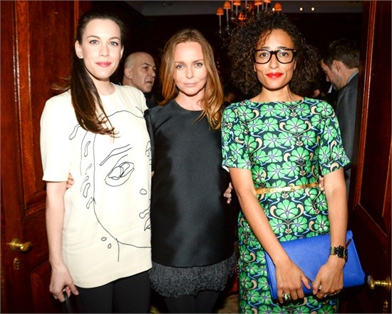 Liv Tyler, Stella McCartney with Zadie Smith