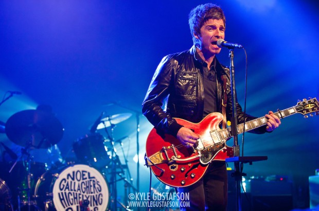 Noel Gallagher Performing High Flying Birds