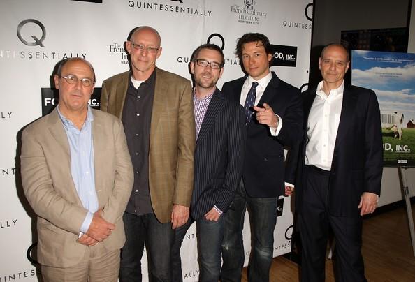 Ted Allen, Eric Schlosser, Rocco Dispirito, Robert Kenner with Michael Pollan