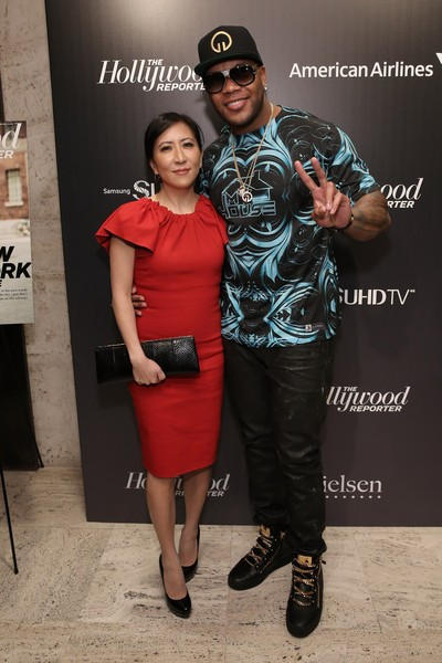 Flo Rida and Janice Min attend - The 35 Most Powerful People In Media