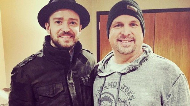 Justin Timberlake With Garth Brooks
