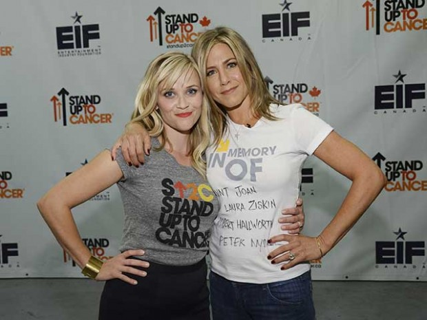 Reese Witherspoon with Jennifer Aniston