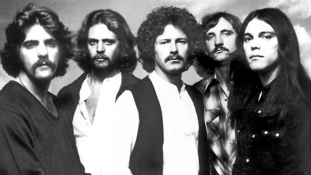 Glenn Frey with Eagle Band in late 1970's