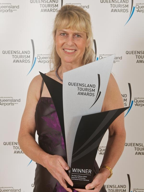 Terri With Queensland Tourism Award