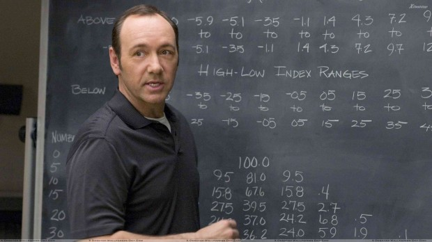 Kevin Spacey In Class At Blackboard