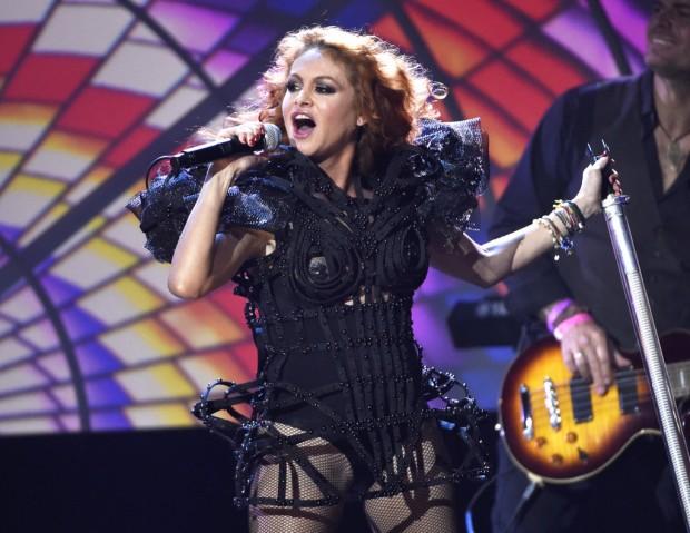Paulina Rubio at Latin American Music Awards