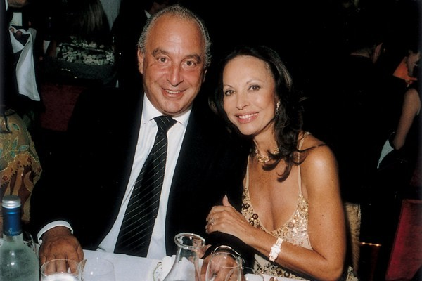 Philip Green And Laurence Graff