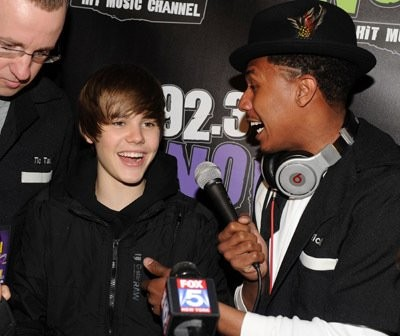 Nick Cannon And Justin Bieber