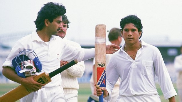 Sachin After His Frist International Century Against England