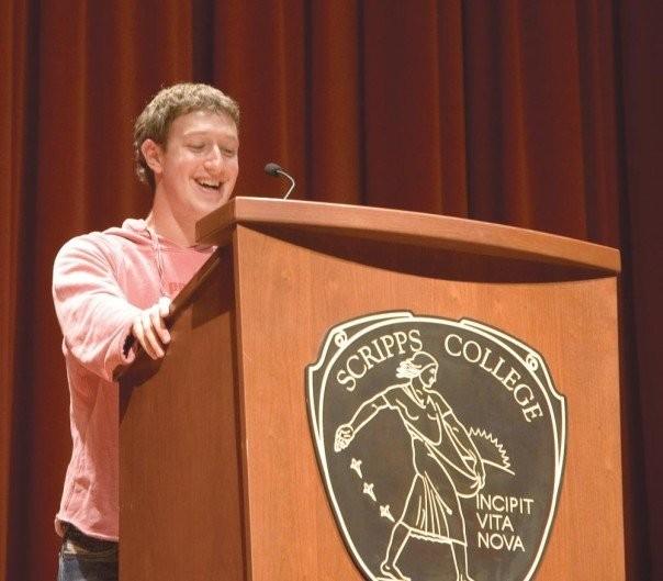 Mark's First Speech at Scripps College
