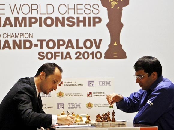 Viswanathan Anad in FIDE World Chess Championship